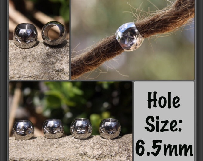 5 Stainless Steel Star 6.5mm Hole (1/4 Inch)