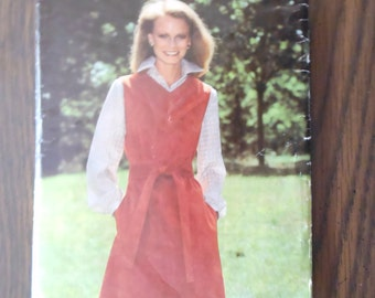 Butterick See & Sew Pattern 5843 Size 16 - Misses Jumper