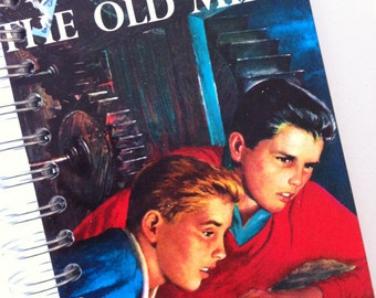 The Hardy Boys The Secret of the Old Mill Recycled Journal Notebook