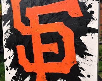 San Francisco Giants Logo Fine Art