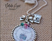 Camera Necklace, Photography Necklace, Personalized Necklace