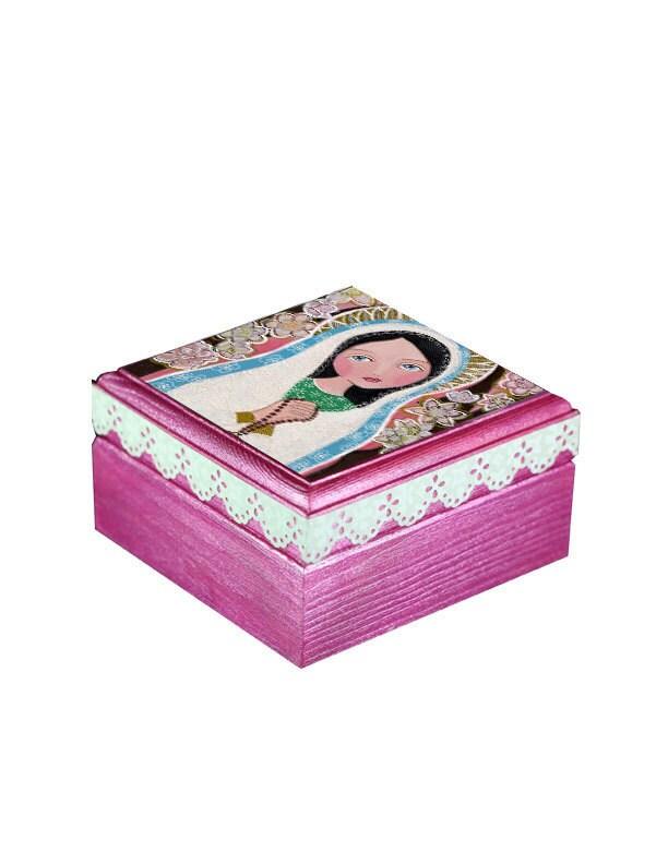Jewelry box wood handmade wooden trinket boxtreasure box for Handmade wooden jewelry box