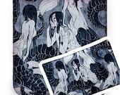 Coey: Mermaid Tote OR Pencil Bag