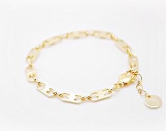 Tiny chain bracelet - Italy