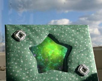 Handmade Star Shaped Photo Frame