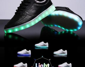 popular items for light up shoes on etsy. Black Bedroom Furniture Sets. Home Design Ideas