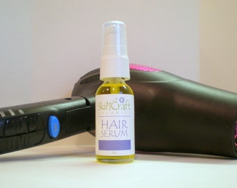 Organic Argan Hair Oil Serum - Hair Conditioner - Treatment to Get Rid of the Frizz Naturally - For Silky Shiny Hair -  1 oz