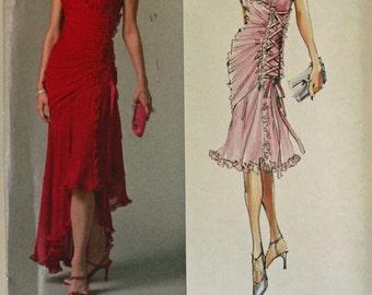 Tango Dress by Bellville Sassoon- 2000's - Vogue Pattern 2880  Uncut Sizes 16-18-20