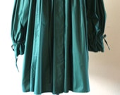 Vintage 1980s Trussardi Dark Teal Jacket