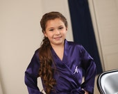 Child Monogram Embroidered Robes for Junior. Bridesmaids and Flower Girls
