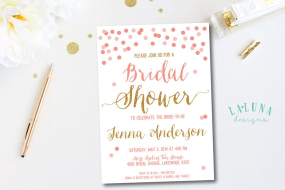 Diy wedding invitations uk sprinkle of glitter baby lifestyle uk diy invitation confetti bridal shower by lalunadesigns recent posts filmwisefo