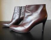 Vintage Yves Saint Laurent High Heels Women's Shoes Size 8M