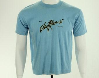 1987 ElectRun T-Shirt Race Shirt L