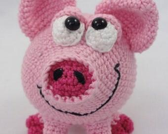 Amigurumi Crochet Pattern - HAMilton the Piglet -