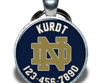 Pet ID Tag - Notre Dame *Inspired*