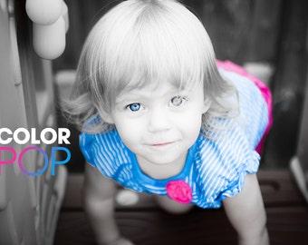 Color Pop - Lightroom Preset