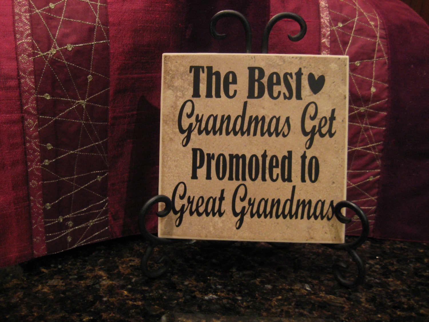 The best grandmas get promoted to great grandmas gift great zoom dailygadgetfo Images