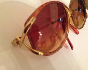 Vintage Designer Christian Dior Sunglasses Marked Christian Dior Made in Germany