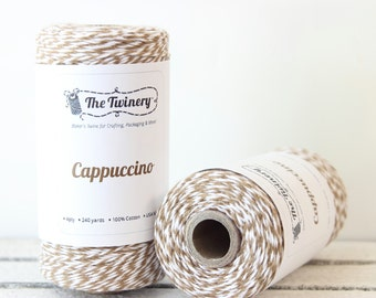 Brown Bakers Twine, Rustic Twine, Bakery String, Gift Packaging, Wedding Favor Tags, Gift Tag String, Masculine Gift Wrap, Craft Twine