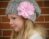 Knitting Pattern For Toddler Hat And Scarf : Hand Knit Hats and Cowls. Original Knitting by BoPeepsBonnets