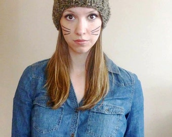 Knitting Pattern For Kitty Hat : Related Keywords & Suggestions for kitty cat hat