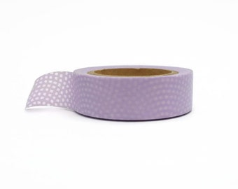Lilac Washi Tape / / Delicate Dots Masking Tape