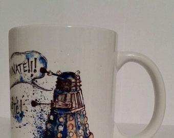 Mugs Insipired By Dr Who