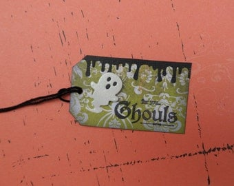 For You Ghouls Tag,Ghost Tag Halloween Tag, Gift Tag, Holiday Tag