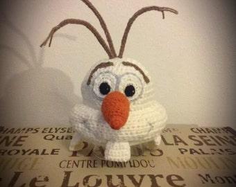 Crochet Funny Snowman Hat