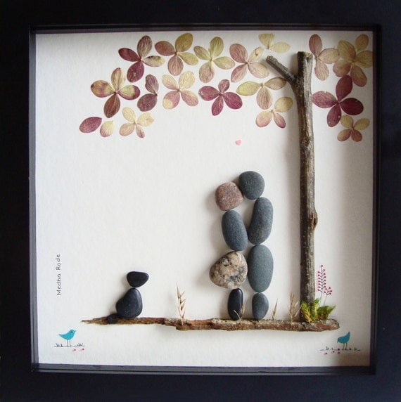 Wedding Gifts For Art Lovers : Wedding Gift-Personalized Wedding Gift-Pebble Art- Dog Lover Gift ...