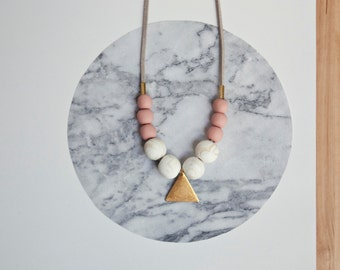 Necklace Oud · Geometric necklace · Different accessories · Necklace of beads · Minimalist necklace · Gifts for her · Jewelry designer