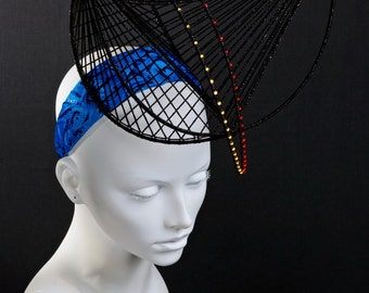 "High fashion headpiece ""Brooklyn bridge"""
