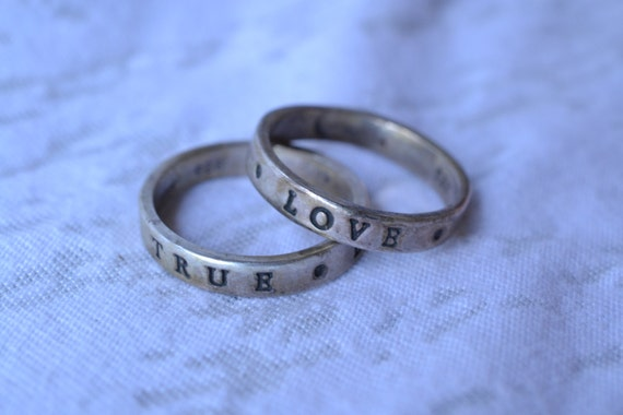 true waits promise rings and by