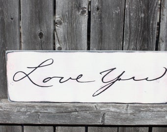Handwriting Sign- Handwriting Decor- Home Decor Sign- Memorial Gift- Custom Handwriting- Handwritten Sign- Valentines Day- Wood Plaque- Art