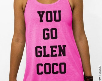You Go Glen Coco Tank Top - Pink Flowy Tank Top