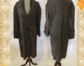 Lambs wool coat | Etsy