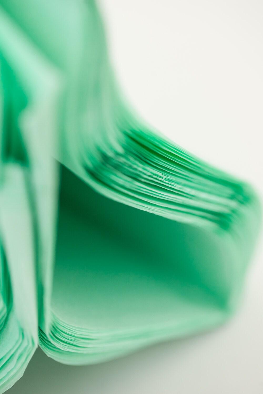 Bright Mint Green Sheets Paper Mint Green 48 Sheets