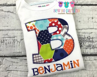 Personalized baby boy outfit - Boy shirt with name - Baby Boy clothes - Baby Boy personalized shirt