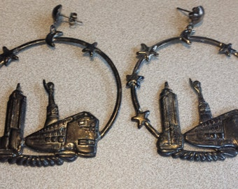Image result for ny skyline earrings