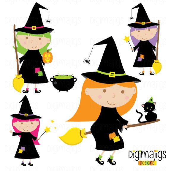 zoom - Cute Halloween Witches