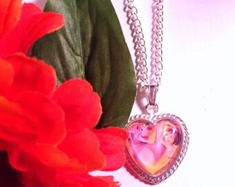 The Jungle Book Heart Pendant Necklace