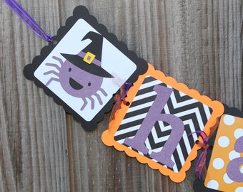 Halloween Banner - Happy Halloween - Halloween Decor - Pumpkin Banner - Halloween Party