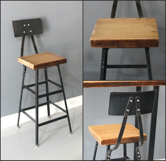 barstool set of 4 bar chair stool industrial