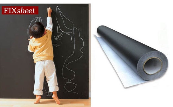 Artist Supply Large Blackboard Chalkboard Wall Paper