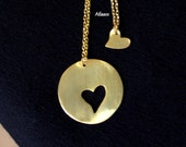 Mother and doughter Necklace-Gold-Silver and Rose Danty Necklace