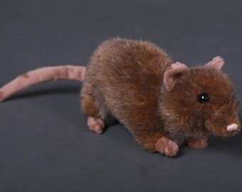 Dusty the RAT plush doll