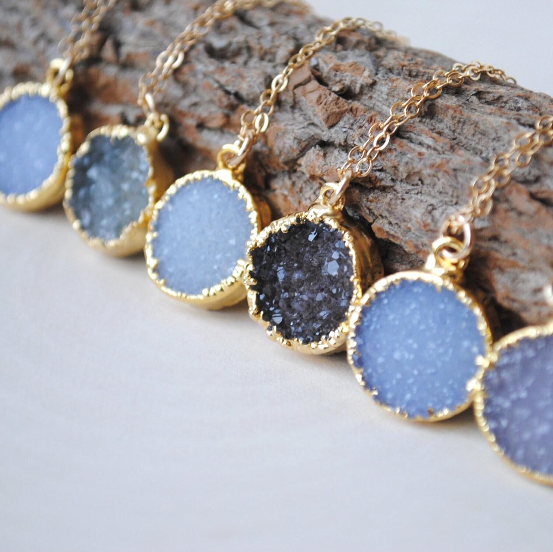 What Is Druzy Jewelry Thin Blog