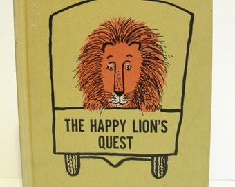 Copyright 1961 The Happy Lion's Quest by Louise Fatio Roger Duvoisin