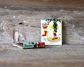 sweden vintage christmas holiday matchbook // sweden collectible matchbook // universal match