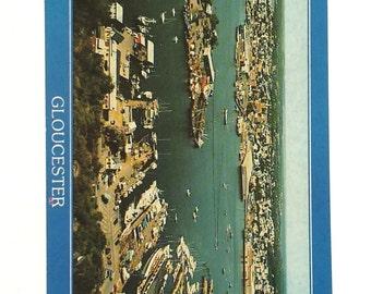 Vintage Postcard,  Gloucester Massachusetts, Travel Postcard, Americana Postcard, Coastline Postcard, Collectible Postcard